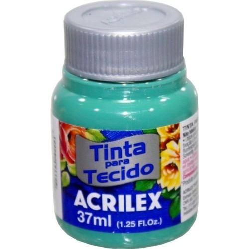 Tinta para Tecido 37ml Verde Mar 630 | Acrilex