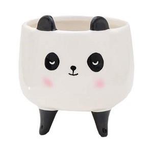 Vaso Cachepot Grande Panda Kawaii| Bras Continental