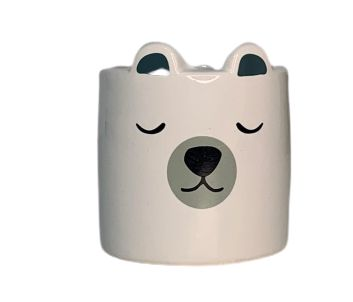 Vaso em Cerâmica Ursinho | Importado