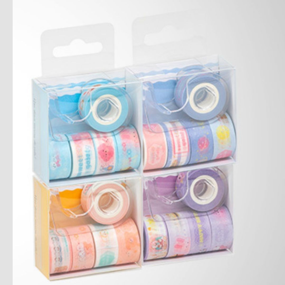 Washi Tapes Mini com dispenser | BRW