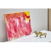 Quadro Decorativo Abstrato - Tempestade Solar