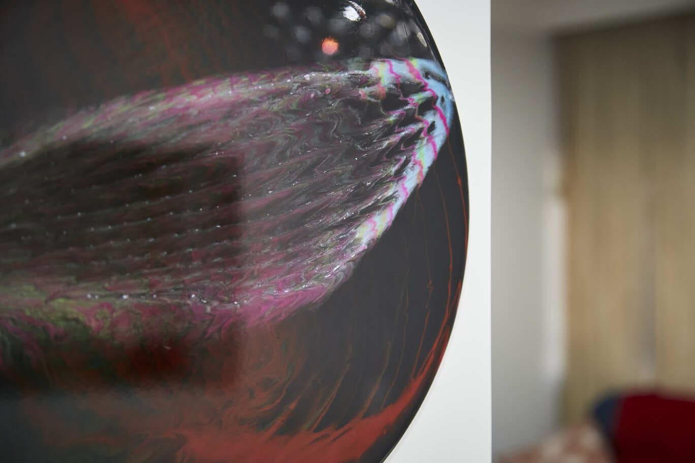 Mandala Decorativa Abstrata - Frequencia