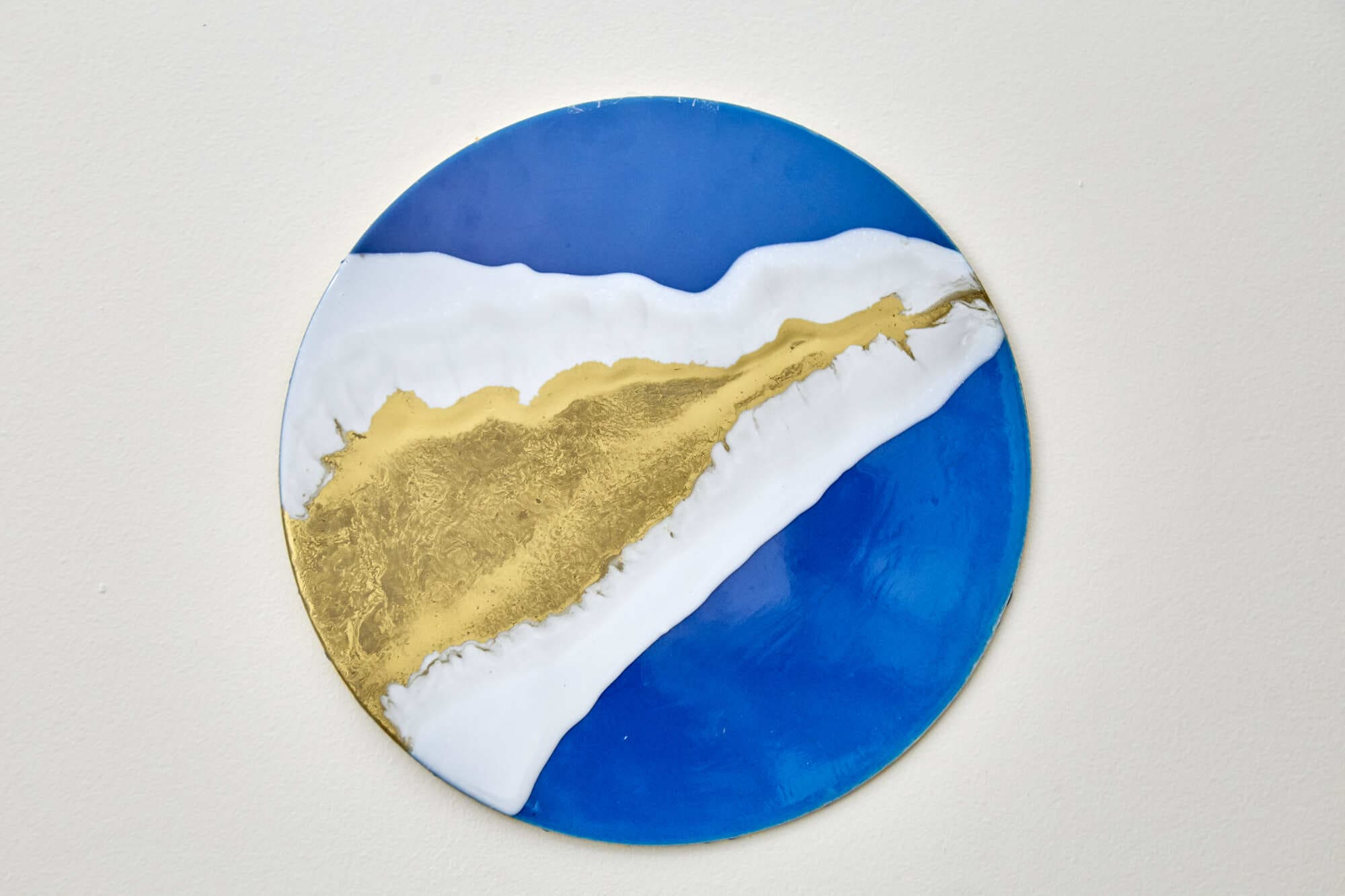Mandala Decorativa Abstrata - River Gold