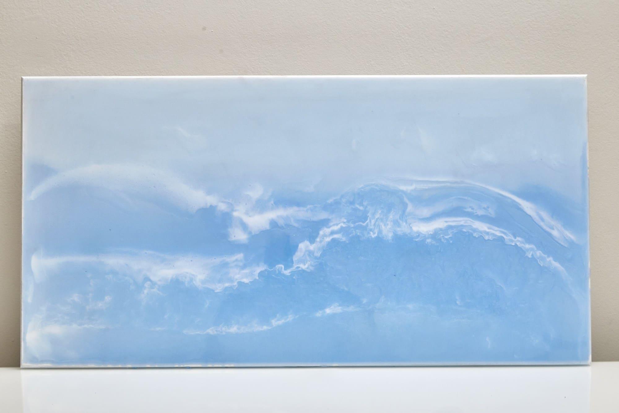 Quadro Decorativo Abstrato - O Mar