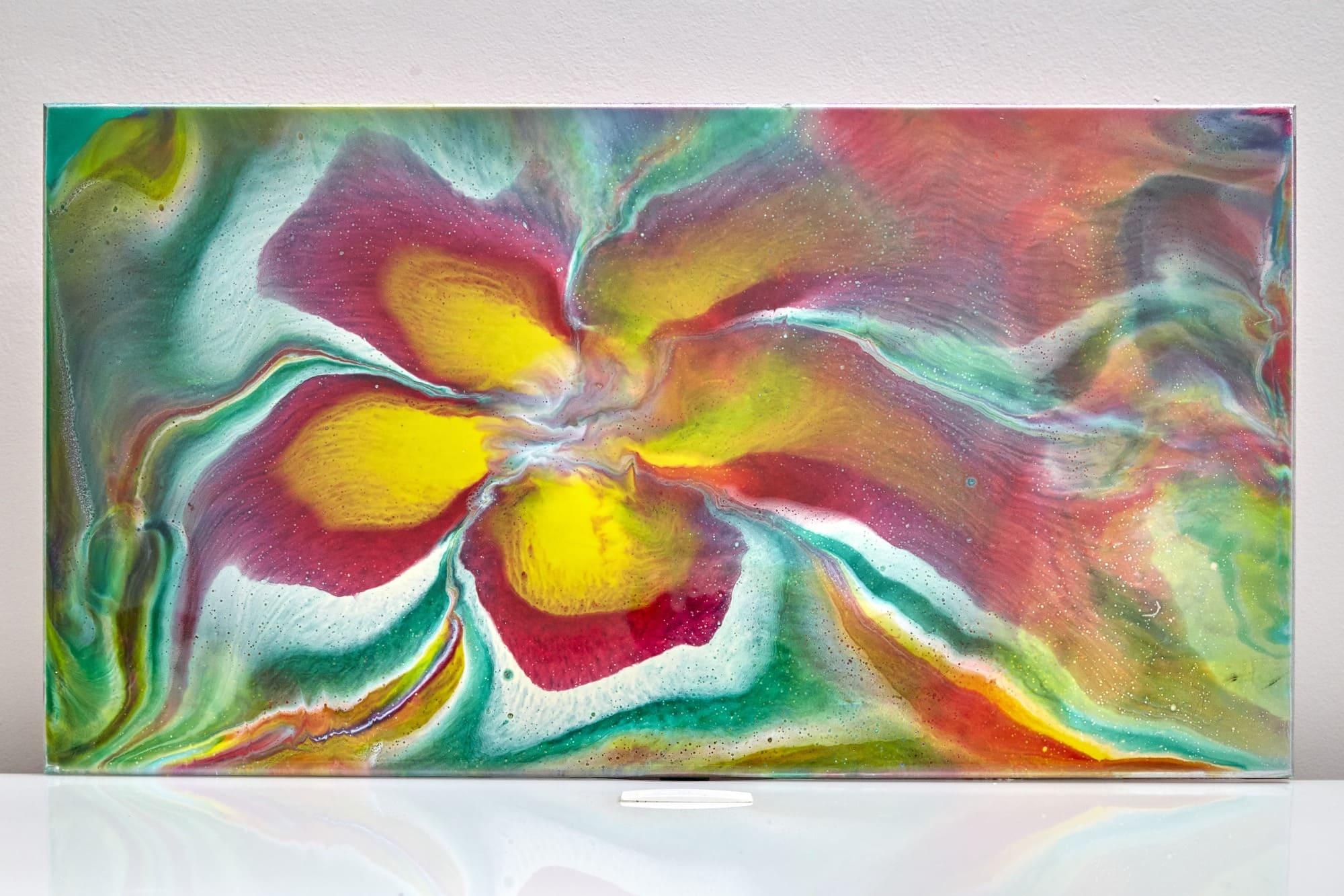 Quadro Decorativo Abstrato - Primavera