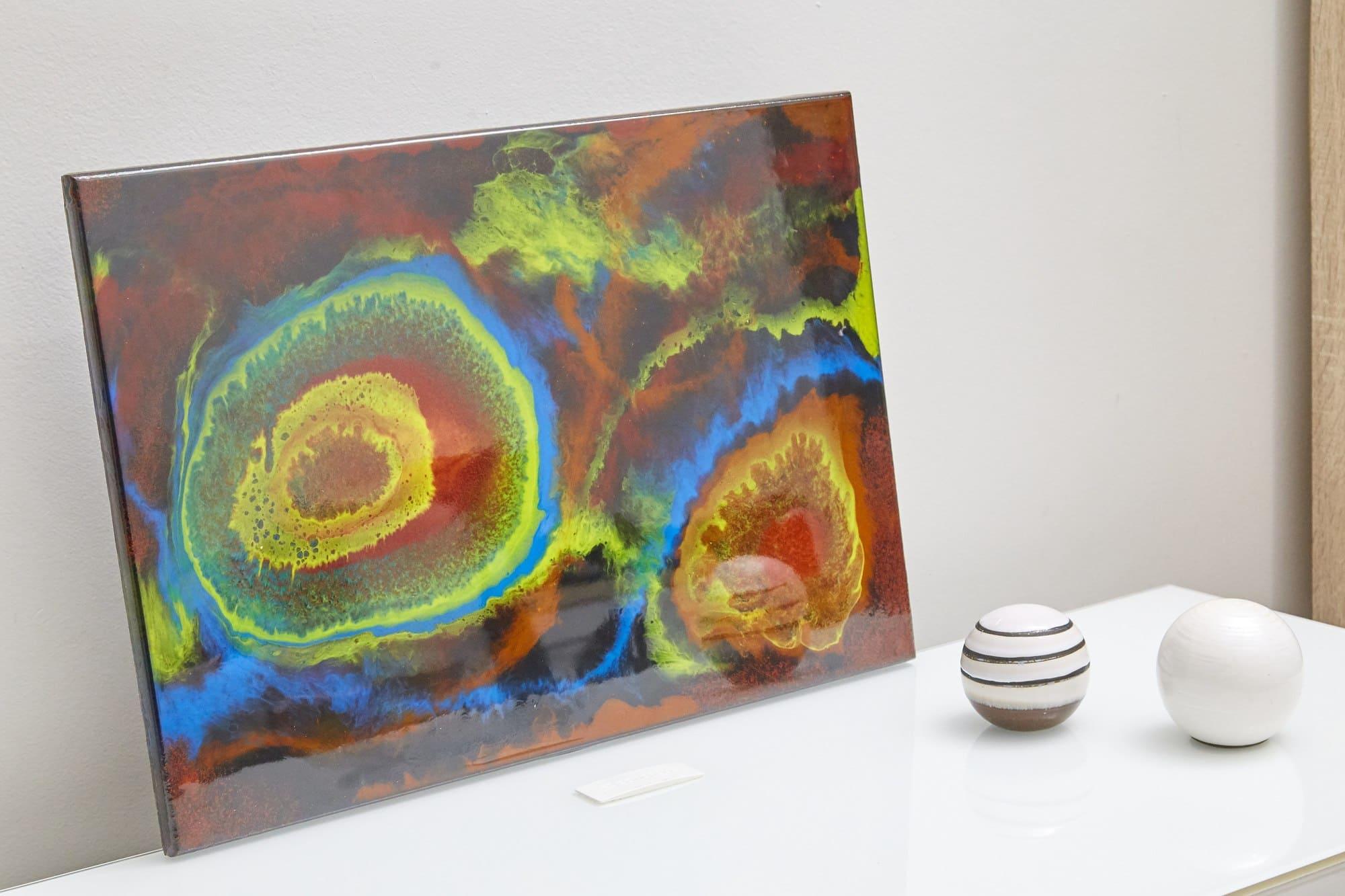 Quadro Decorativo Abstrato - Radiação Cosmica
