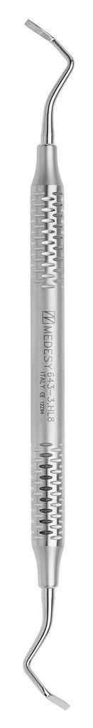 Cinzel Periodontal Rhodes Back-Action 36/37 Alça Com 8 Mm - 643/37.Hl8 Medesy