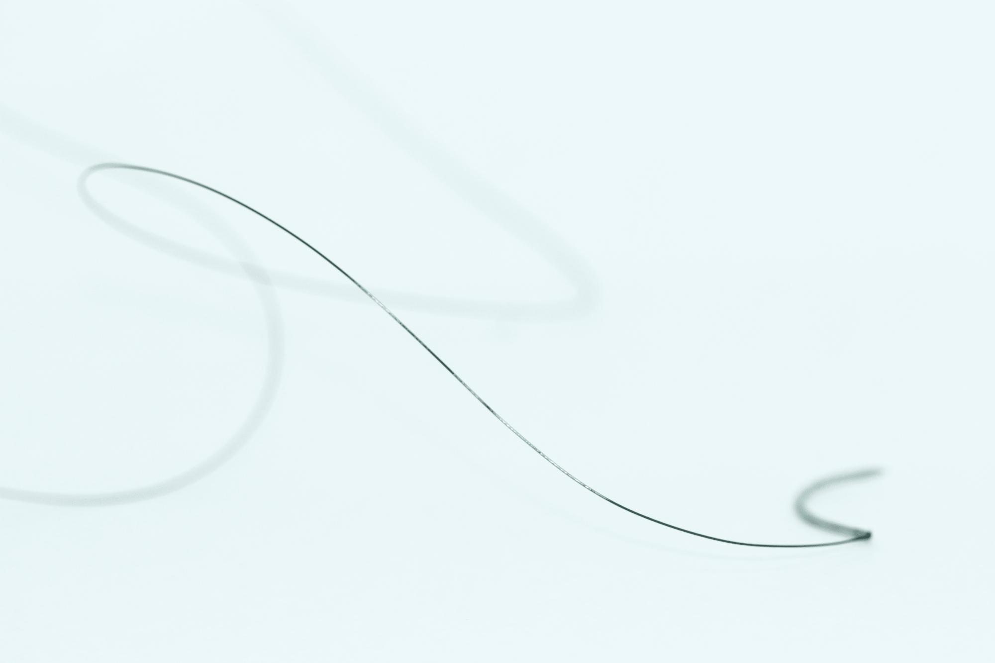 Fio De Sutura Nylon não-absorvível  com agulha 24un Micronylon Microsuture