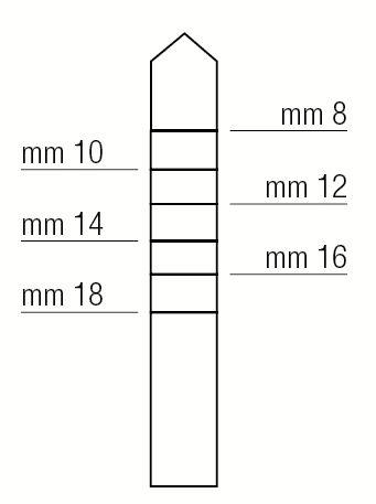 Osteótomo Expansor Summers - 3,8 Mm - 1312/4P