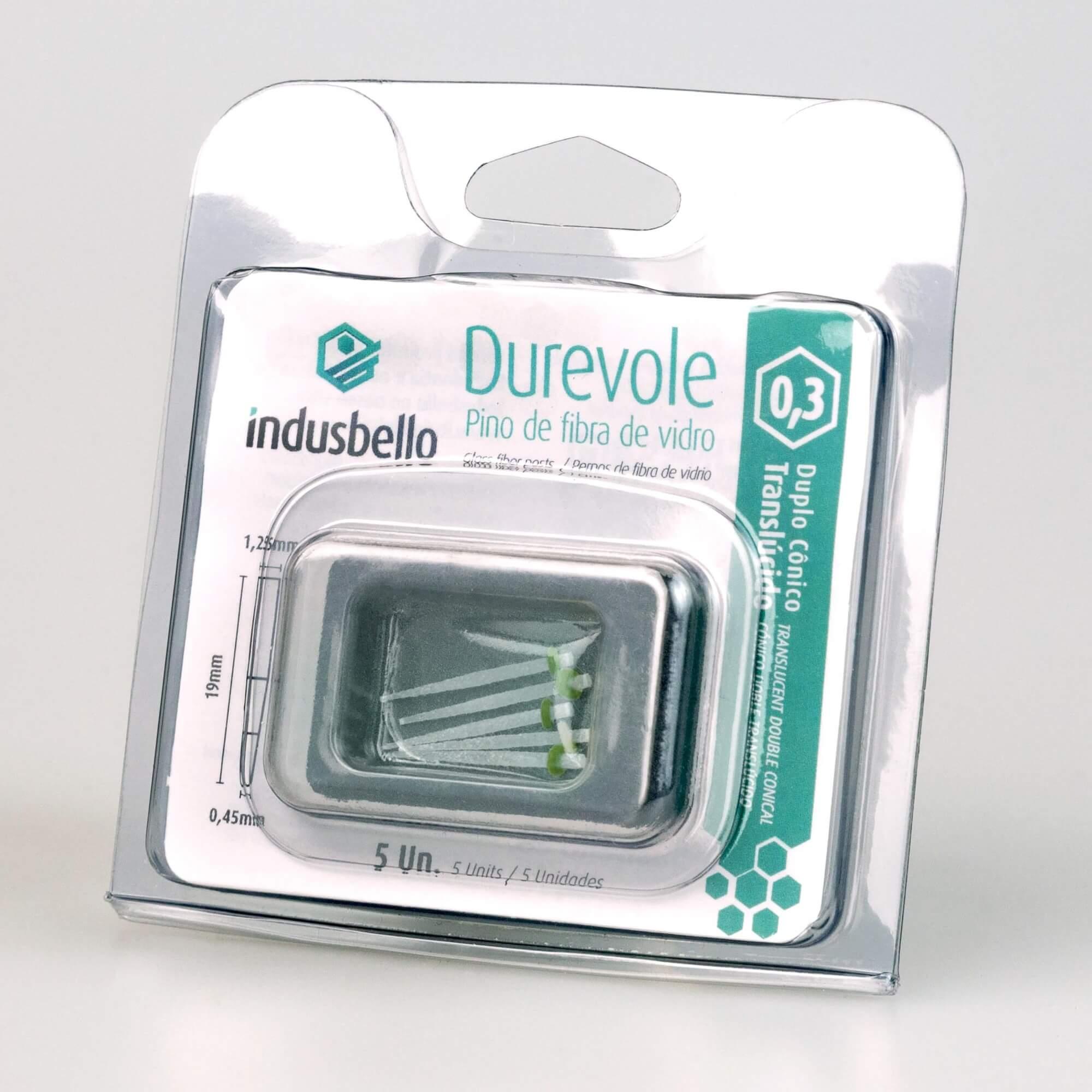 Pino Fibra de Vidro Translúcido Durevole Indusbello (5 un)