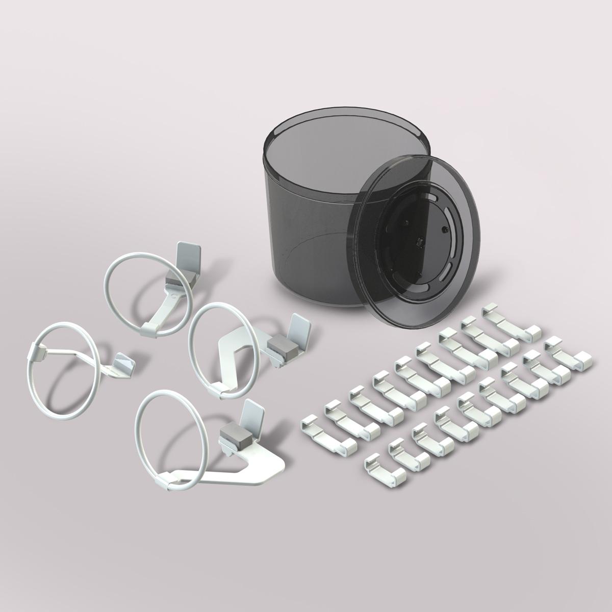 Posicionador Radiográfico Cone Indicator Digital com 18 fixadores