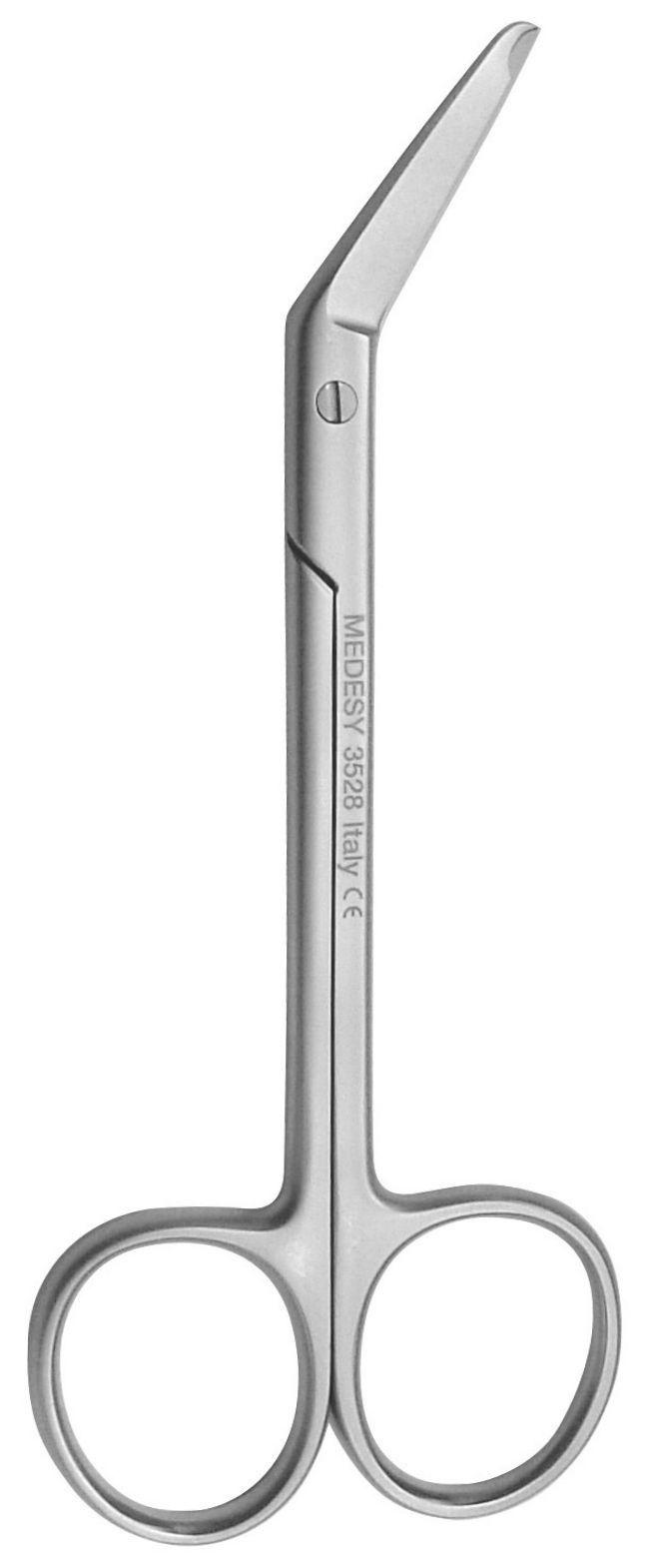 Tesoura Cirúrgica Angulada Spencer - 115 Mm - 3528 Medesy