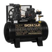 Compressor Pistão 10 pés-  CSL 10 BRAVO - 100 Litros - 220V Monofasico