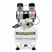 Motocompressor odontológico 10 pcm 30 litros sem óleo - Chiaperini MC 10 BPO RV 30 L