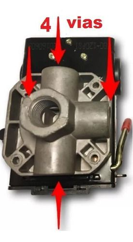 Automatico P/ Compressor 135/175 Alta 4 Viasoriginal