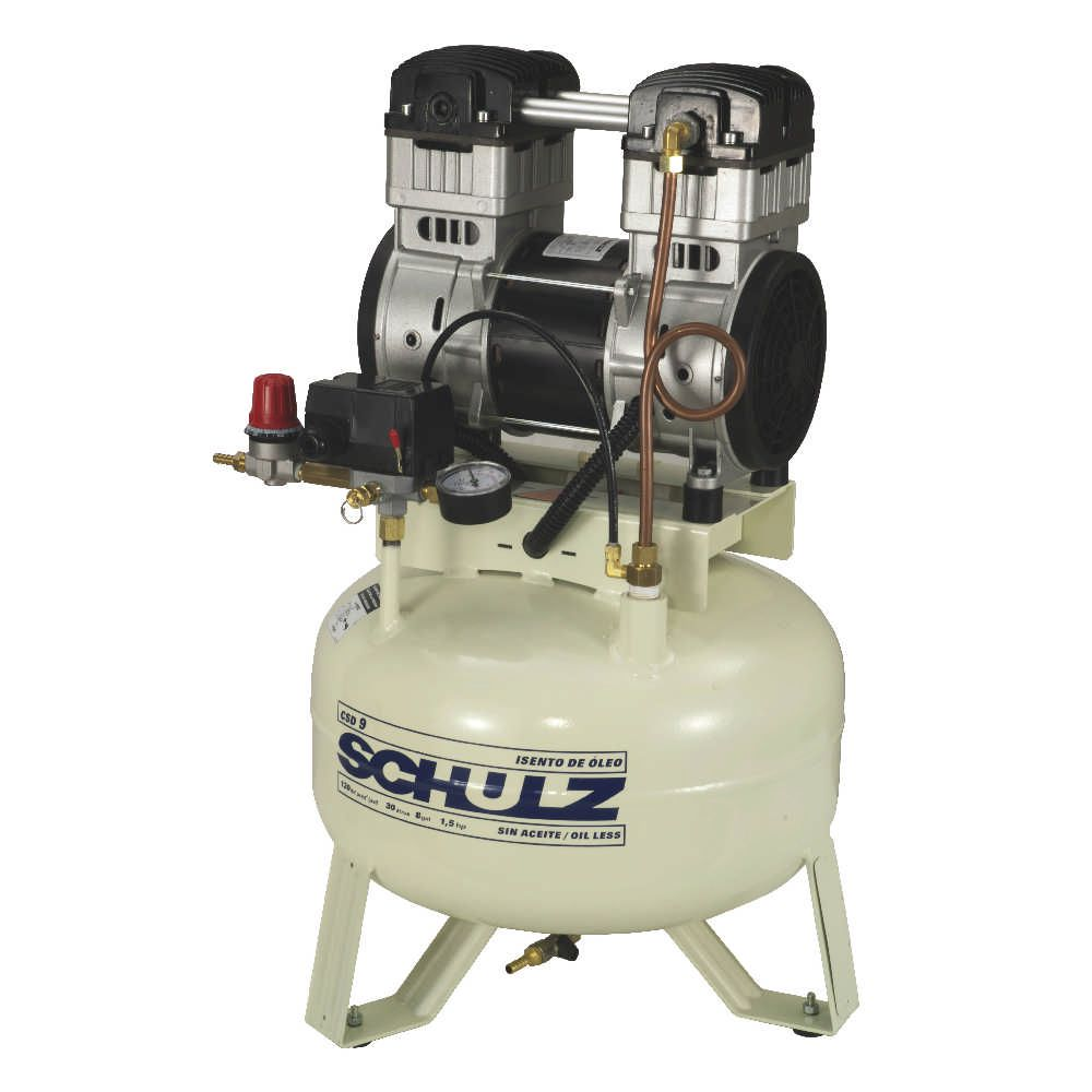Compressor Odontologico CSD 9/30 - 220V Monofasico SCHULZ