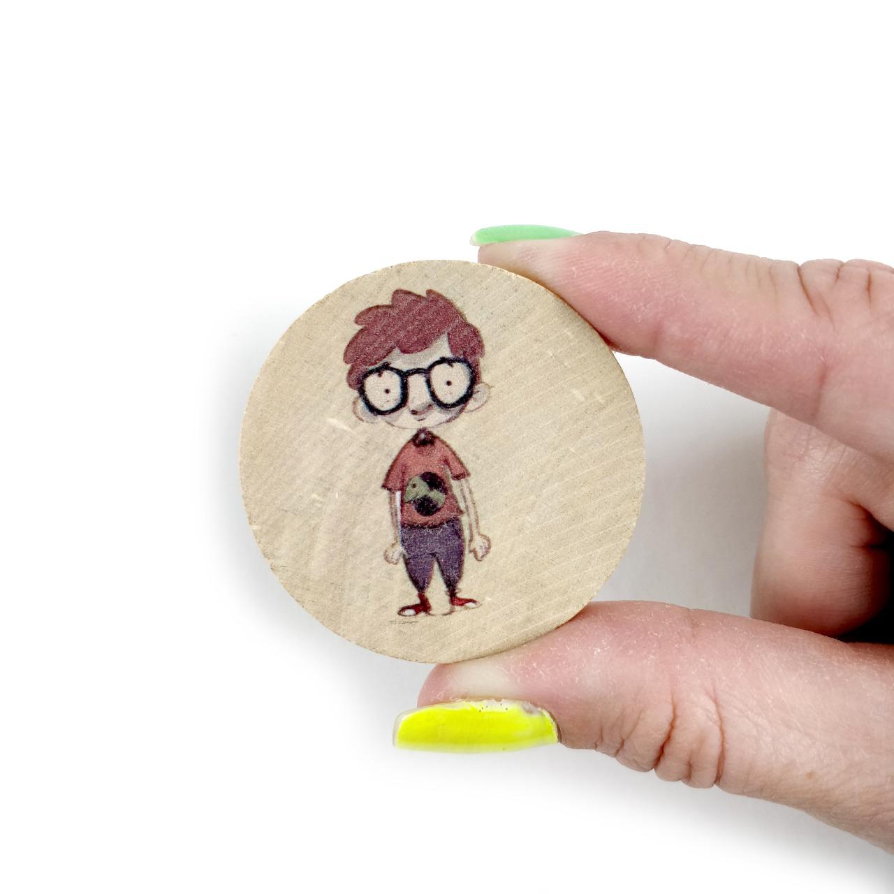 Jogo da Memória LIVRO O menino que se escondia - Brinquedo Educativo em Madeira  - Elefante Colorido Brinquedos Educativos