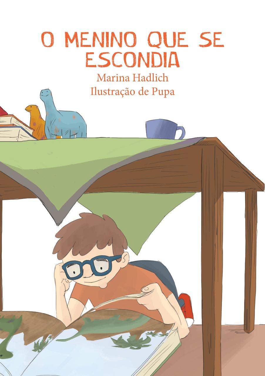 KIT  3 livros O Menino que se escondia + brinde  - Elefante Colorido Brinquedos Educativos