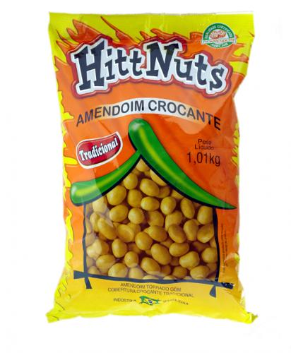 Amendoim Crocante Hitt Nuts Tradicional 1,01kg