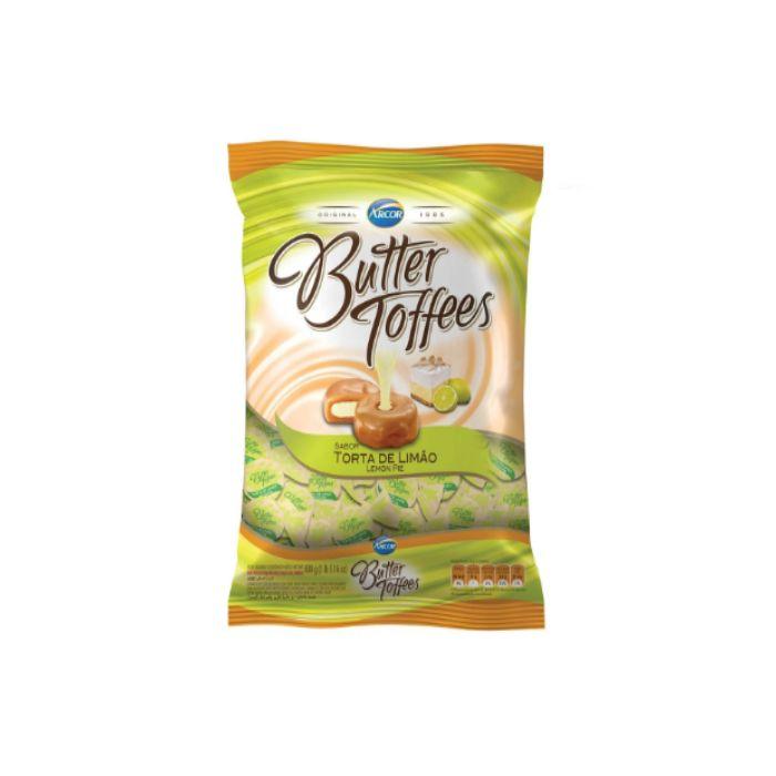 Bala Butter Toffees Torta de Limão 500g Arcor