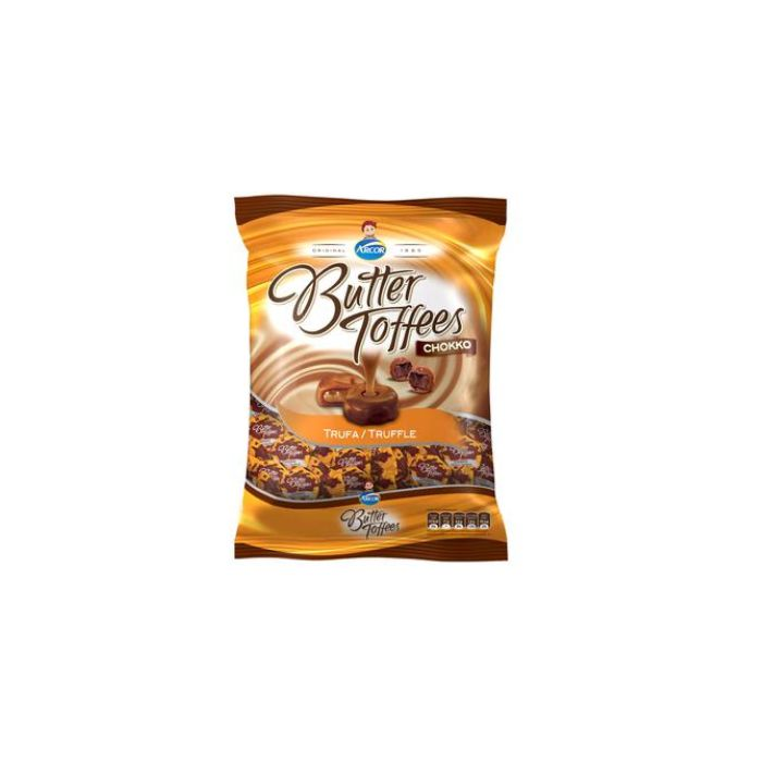Bala Butter Toffees Trufa 500g Arcor