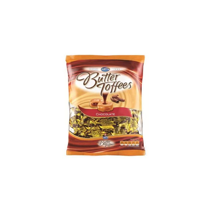 Bala de Chocolate Butter Toffees 500g Arcor