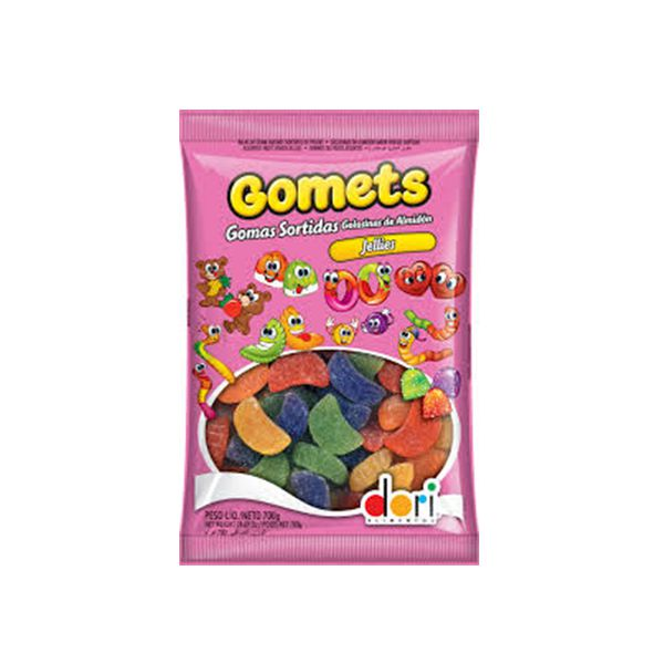 Bala de Goma Gomets Gomos Dori 700g