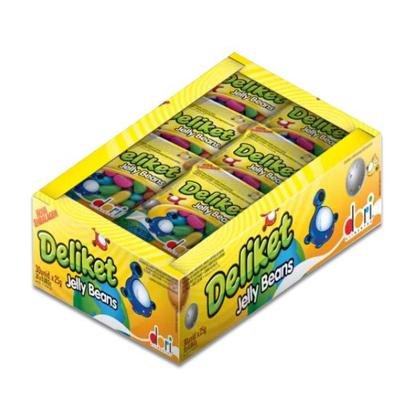 Balas de Goma de Frutas Deliket Dori 30 pct de 16g