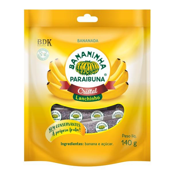 Bananinha Cristal Lanchinho 140g Paraibuna