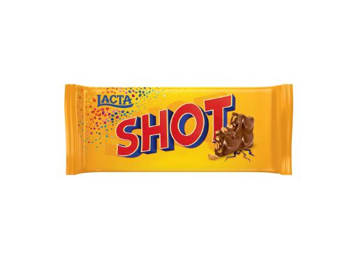 Barra de Chocolate Lacta Shot 90g