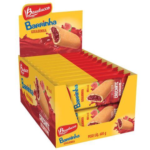 Barrinha Maxi Goiaba Bauducco contendo 20 unidades