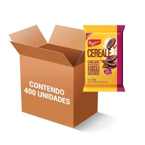 Biscoito Bauducco Cereale Cacau, Aveia e Mel 400 Sch 12,5g Cada