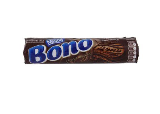 Biscoito Bono recheado sabor Chocolate 140g