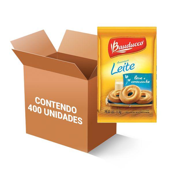 Biscoito Leite Sachê Bauducco contendo 400 unidades *** COMPROU, GANHOU 1cx AÇÚCAR MASCAVO SACHÊ C/200un ***