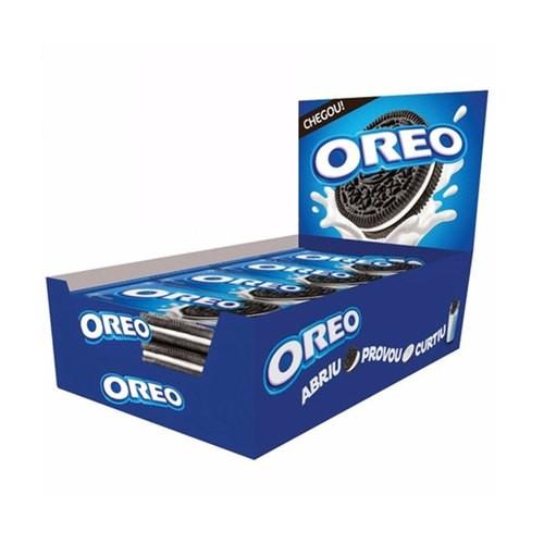 Biscoito Oreo Original contendo 8 pacotes de 36g cada