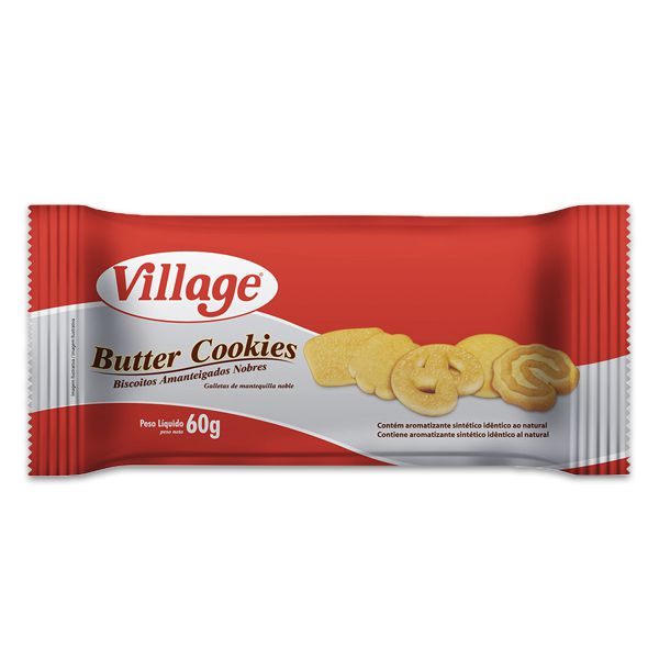 Butter Cookies Village 60g