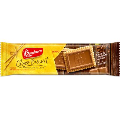 Choco Biscuit ao leite Bauducco 80g
