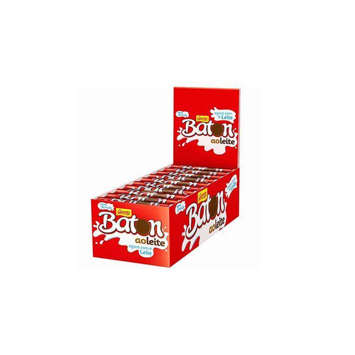 Chocolate Baton ao Leite Garoto 30 un 16g cada