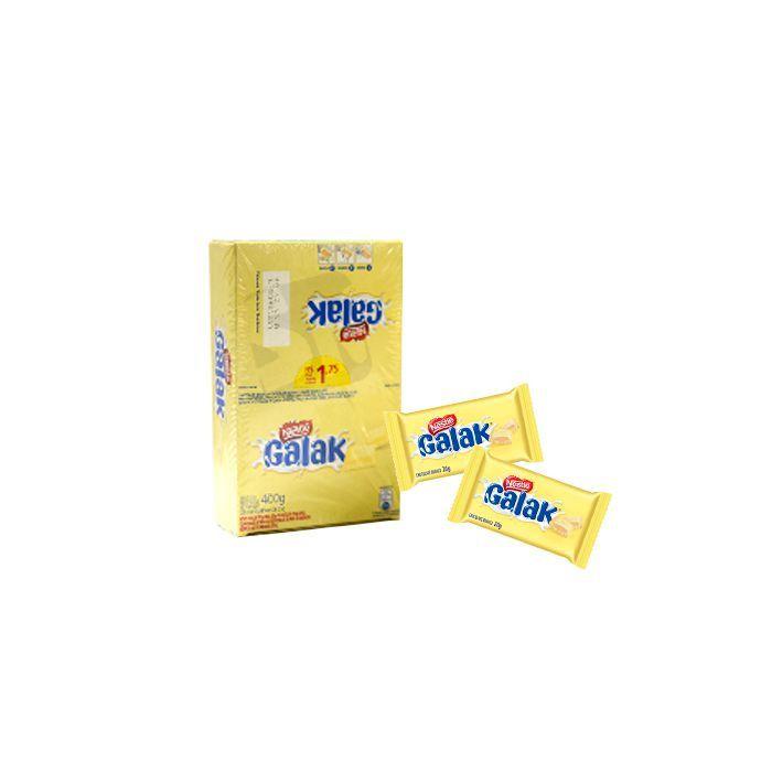 Chocolate Branco Galak Nestle 18 un de 20g cada