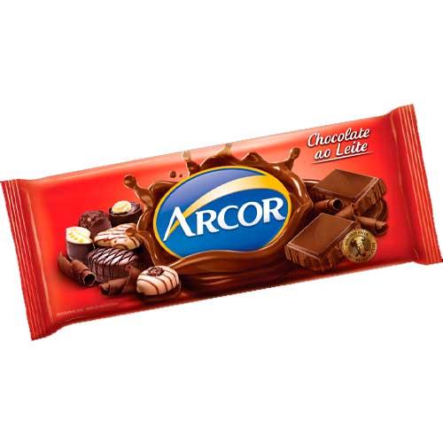 Chocolate em Barra Arcor ao Leite 1,05kg
