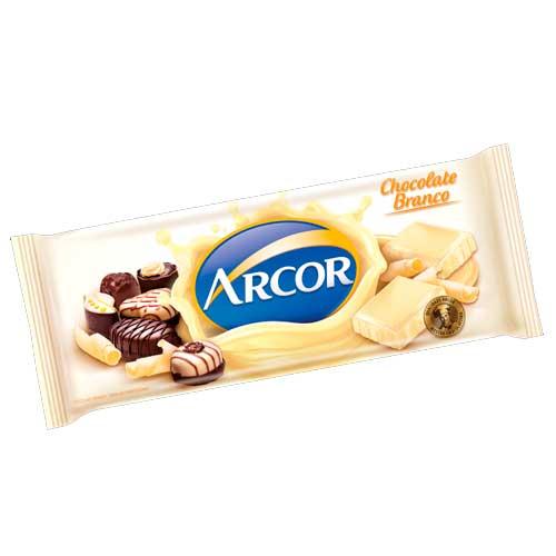 Chocolate em Barra Arcor Branco 1,05kg