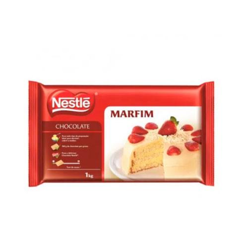 Chocolate em barra Nestle Branco Marfim 1kg
