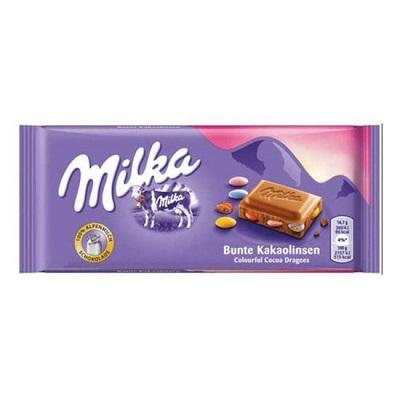 Chocolate Milka Bunte Kakaolinsen 100g