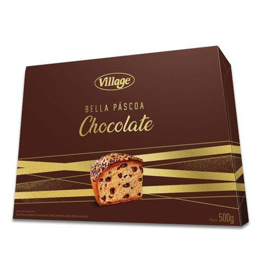 Colomba com Gotas de Chocolate Village 500g