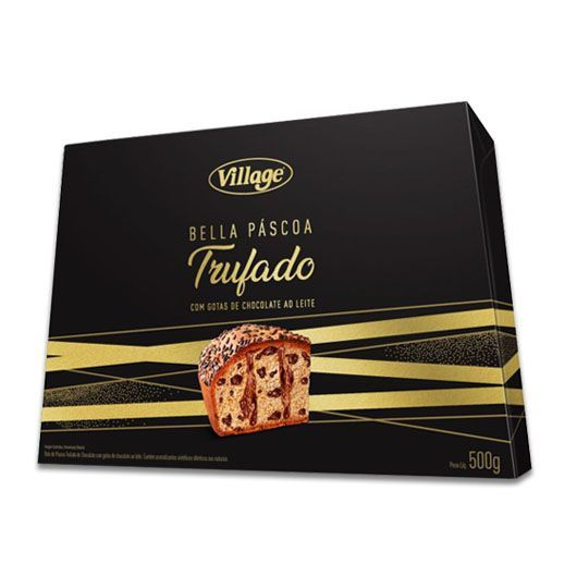 Colomba Trufada com Gotas de Chocolate Village 500g