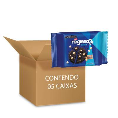 Cookies Negresco Nestlé 60g - 5 packs com 3 pacotes de 20g cada
