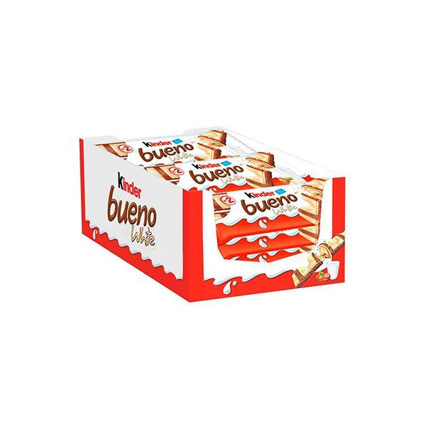 Kinder Bueno White contendo 30 unidades de 39g cada