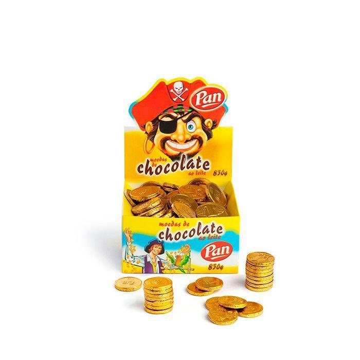 Moedas de Chocolate Pan 830g
