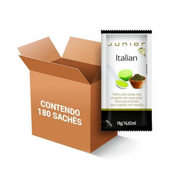 Molho para Salada Vinagrete Italian Junior 180 Sch de 18g cada