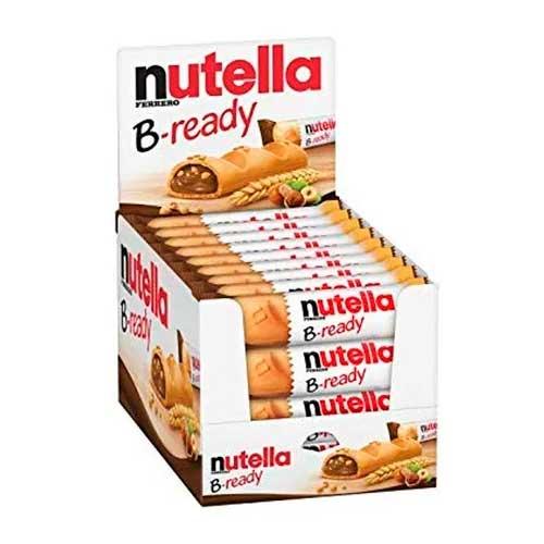 Nutella B-Ready Wafer Recheado com Creme de Avelã com Cacau 36 un de 22g cada